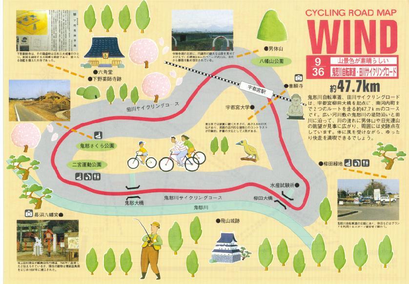 自転車道 荒川自転車道 : ... 自転車道・田川